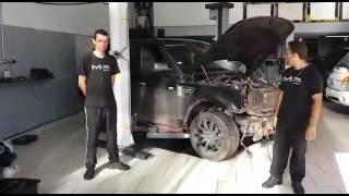 Desmontagem Range Rover Sport