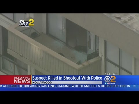 Thumbnail: Armed Man Killed After Hollywood Shootout With Police Officers
