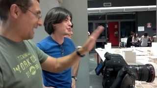 Backstage Laboratorio DAMS Spot 2013