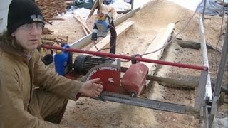 electric sawmill modifications