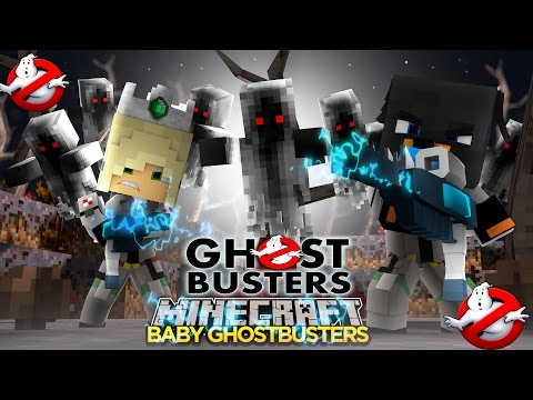 Minecraft - Donut the Dog Adventures -BABY MAX IS A GHOSTBUSTER!!!!