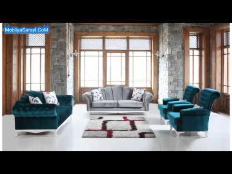 Turkuaz Koltuk Takimi Modelleri 2019 2020