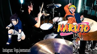 NARUTO OP 4 FULL   FLOW - GO!!! (FIGHTING DREAMERS)   DRUM COVER
