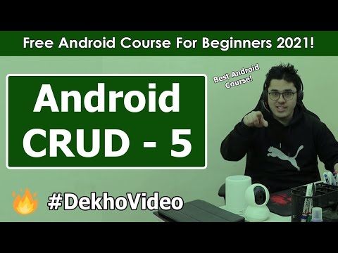 SQLite Android CRUD: Deleting Records | Android Tutorials in Hindi #29 thumbnail