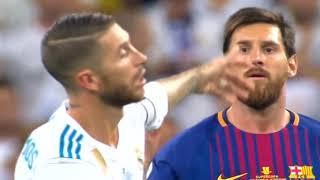 Подлость Рамоса к Месси (Реал Мадрид   Барселона)