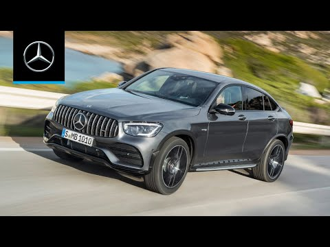 Mercedes-AMG GLC 43 4MATIC Coupé (2020): World Premiere | Trailer