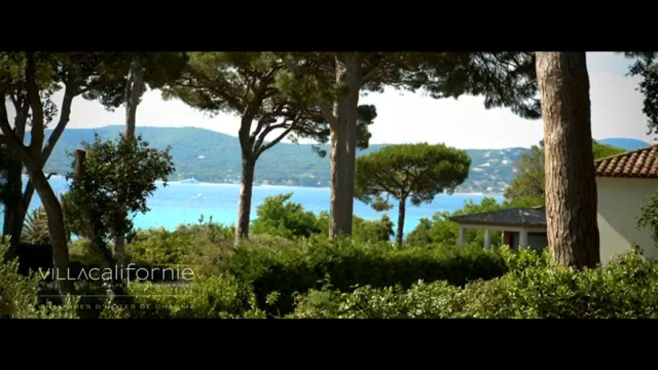 chambre d 39 h te grimaud villa californie golfe de saint tropez youtube. Black Bedroom Furniture Sets. Home Design Ideas