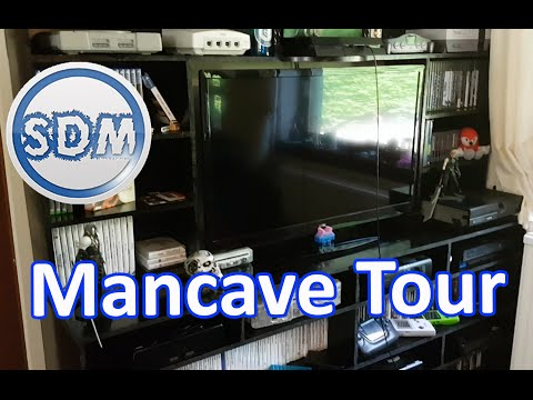 Man Cave Tour (Part 1) My Game Room