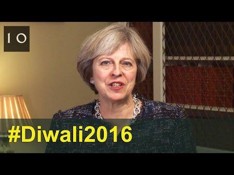 Diwali 2016: Theresa May's message