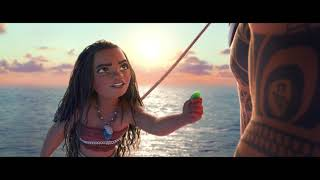 "MOANA Movie Clip ""The Sea Insists"" - Moana, Maui & Heihei"