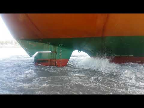 Ship Berthing With Heavy Propeller Wash