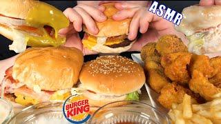 버거킹 햄버거 치킨 먹방 리얼사운드 ASMR #shor…
