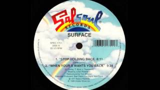Surface - Stop Holding Back