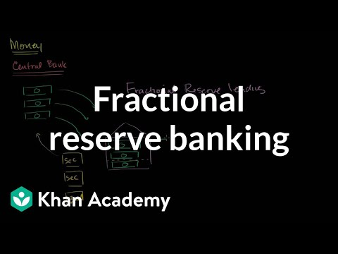 Overview of fractional reserve banking | The monetary system | Macroeconomics | Khan Academy