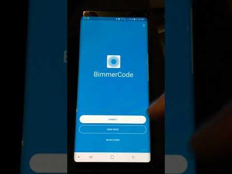 BMW 2014+ X5 F15 Coding with bimmercode app