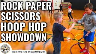 Rock Paper Scissors Variation - Hoop Hop Showdown