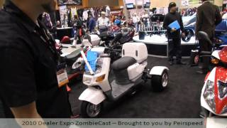 ice bear scooters 2010 dealer expo coverage live