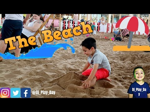 The beach! inside of a shopping mall!! Day out!    Dj_Play_Day