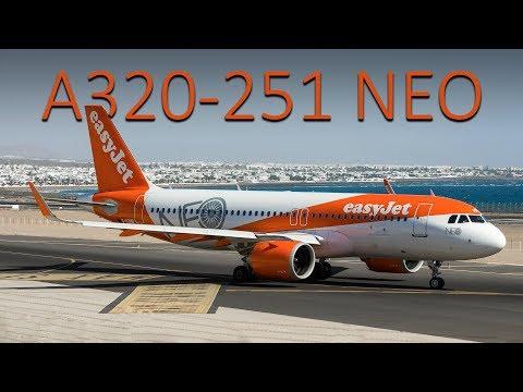 Airbus 320 CFM-56 vs Airbus 320 LEAP 1-A26 ( 4K )