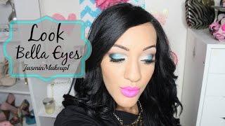 Look Bella Eyes con Milani by JasminMakeup1