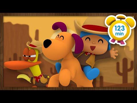 💰pocoyÓ-en-espaÑol---películas-del-oeste-[-123-minutos-]-|-caricaturas-y-dibujos-animados-para-niños