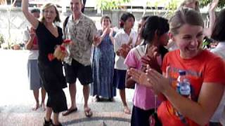 Bali girls orphanage happy departure song