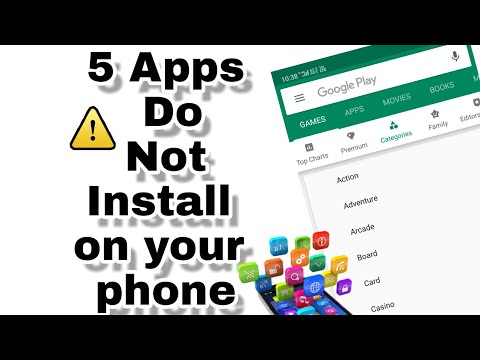 5 Apps Do Not Install On Your Smartphone