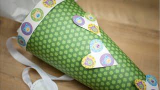 Schultüte selber machen DIY   schön-einpacken