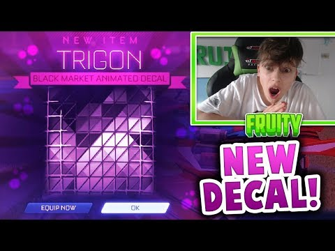 I GOT TRIGON! | NEW MYSTERY DECAL! | VICTORY CRATE | Rocket League