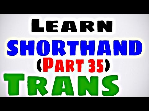 learn-pitman-shorthand-(part-35)-trans