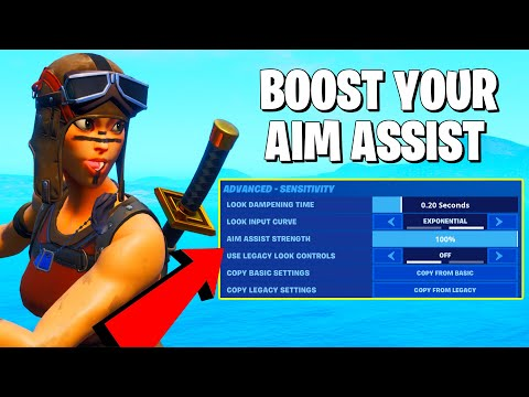 FORTNITE IS CHANGING AIM ASSIST AND SENSITIVITY **Fortnite Console Settings**