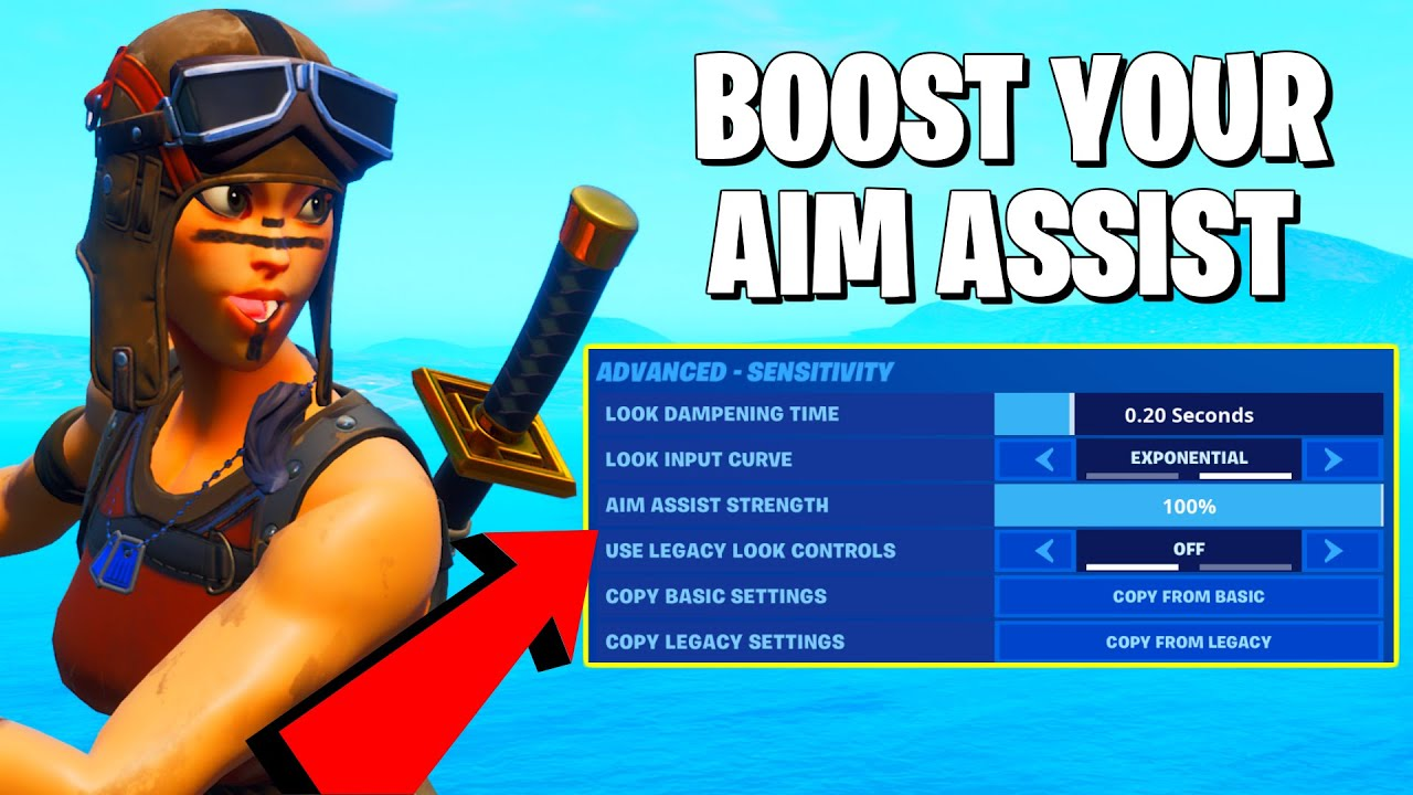 Fortnite Aim Assist Pc