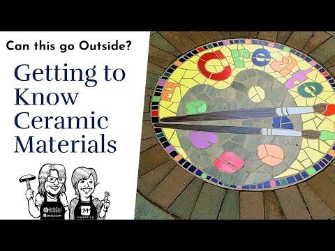 Ceramic Tile Materials for Mosaic Video