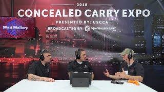 Matt Mallory Instructor and LaserAmmo Pro Staff - USCCA Expo 2018