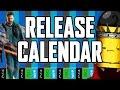 Release Calendar - April 4-10, 2016