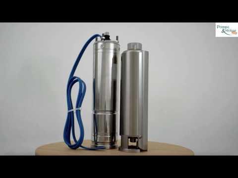 """Pompe immergée 4"""" 5.5Kw/7.5cv - gros débit Découvrez ci-dessous nos vidéos de présentation du produit"""