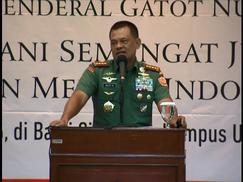[BREAKING NEWS] Kuliah Umum Panglima TNI Gatot Nurmantyo: Proxy war mengancam Indonesia