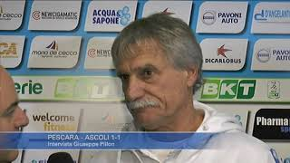 Pescara - Ascoli 1-1: Giuseppe Pillon