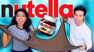 DIY NUTELLA SLIME!