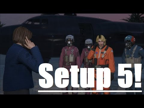 GTA Doomsday Heist Act 3 Setup 5 Air Defenses