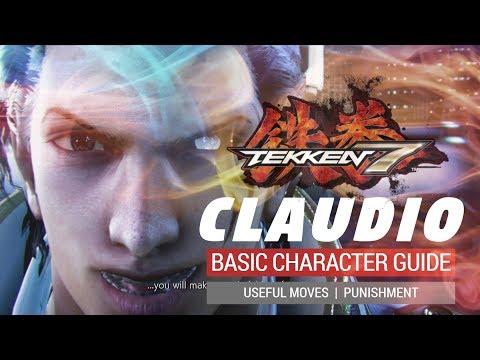 TEKKEN 7: Claudio Sefarino Basic Guide - Useful Moves and Punishment