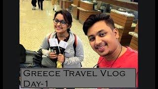 Greece Travel VLOG | Day 1 | Kolkata to Mumbai |