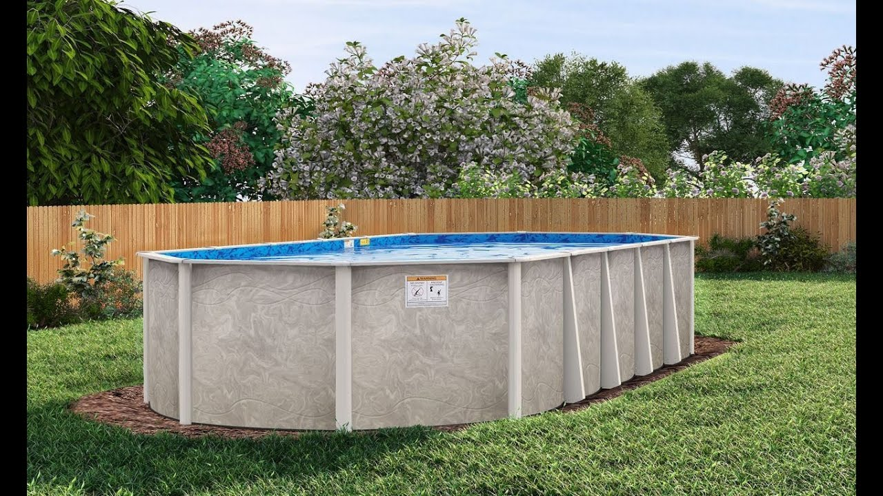 Install An Oval Above Ground Pool, How To Install An Above Ground Oval Pool