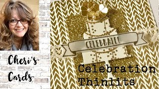 Bridal Card with Celebration Time from Stampin' Up!