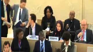 UN Geneva human rights commission Mrs. Blourchi Camp Ashraf Massacre Iraq