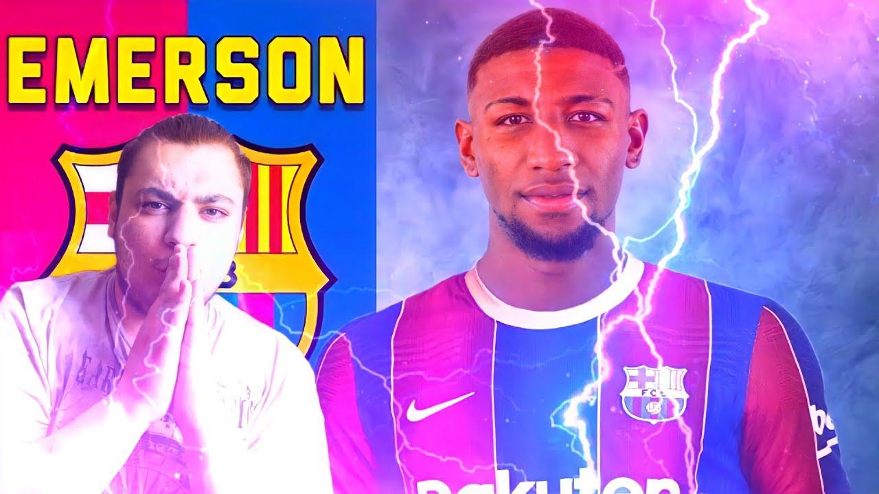 """ردة فعلي على لاعب برشلونة الجديد """"ايميرسون رويال 🔥"""" خليفة داني الفيش"""