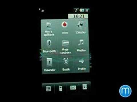 LG KU990 Viewty - menu