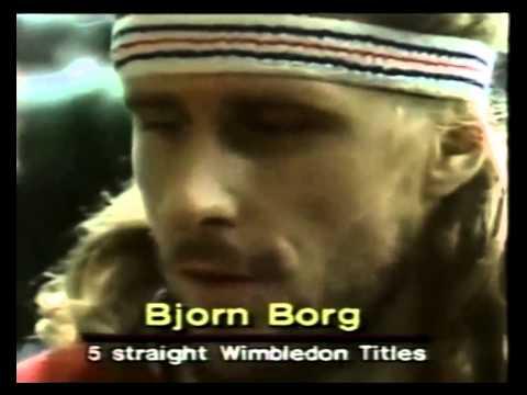 Bud 'Mr Tennis' Collins with McEnroe&  Borg  - Wimbledon 1980