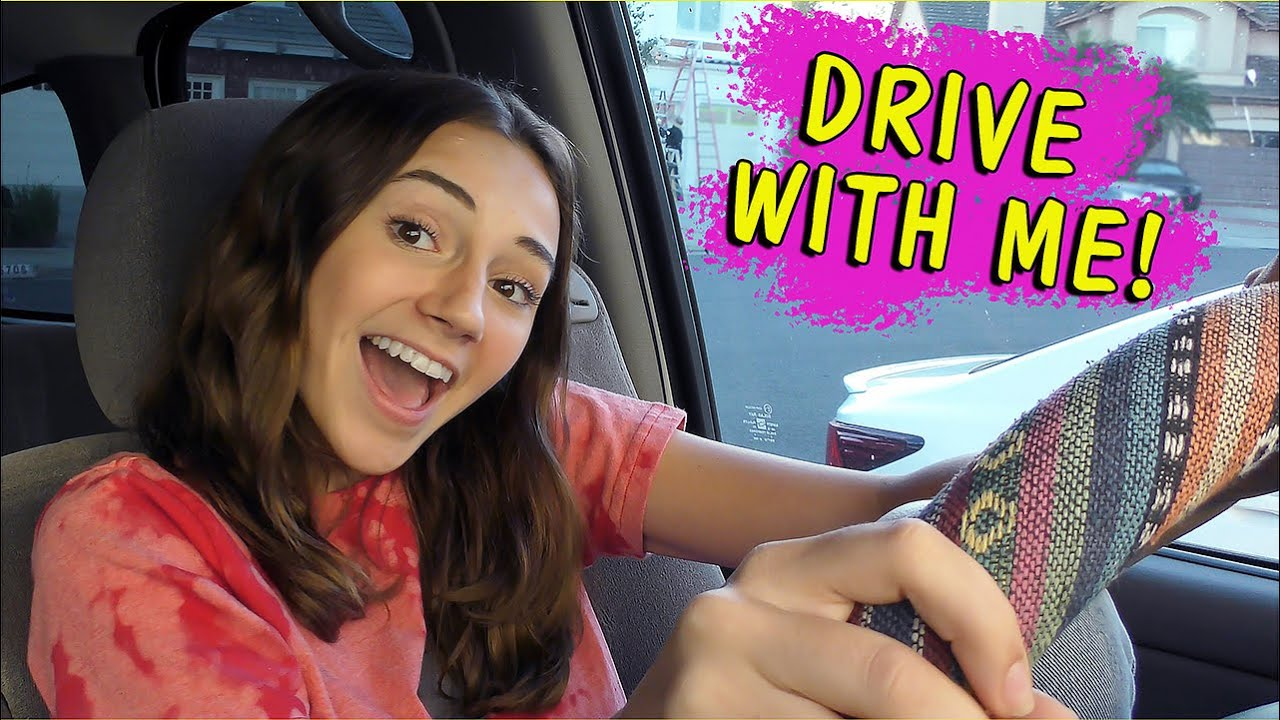 Drive with Me - Thrift Shopping | Kayla Davis