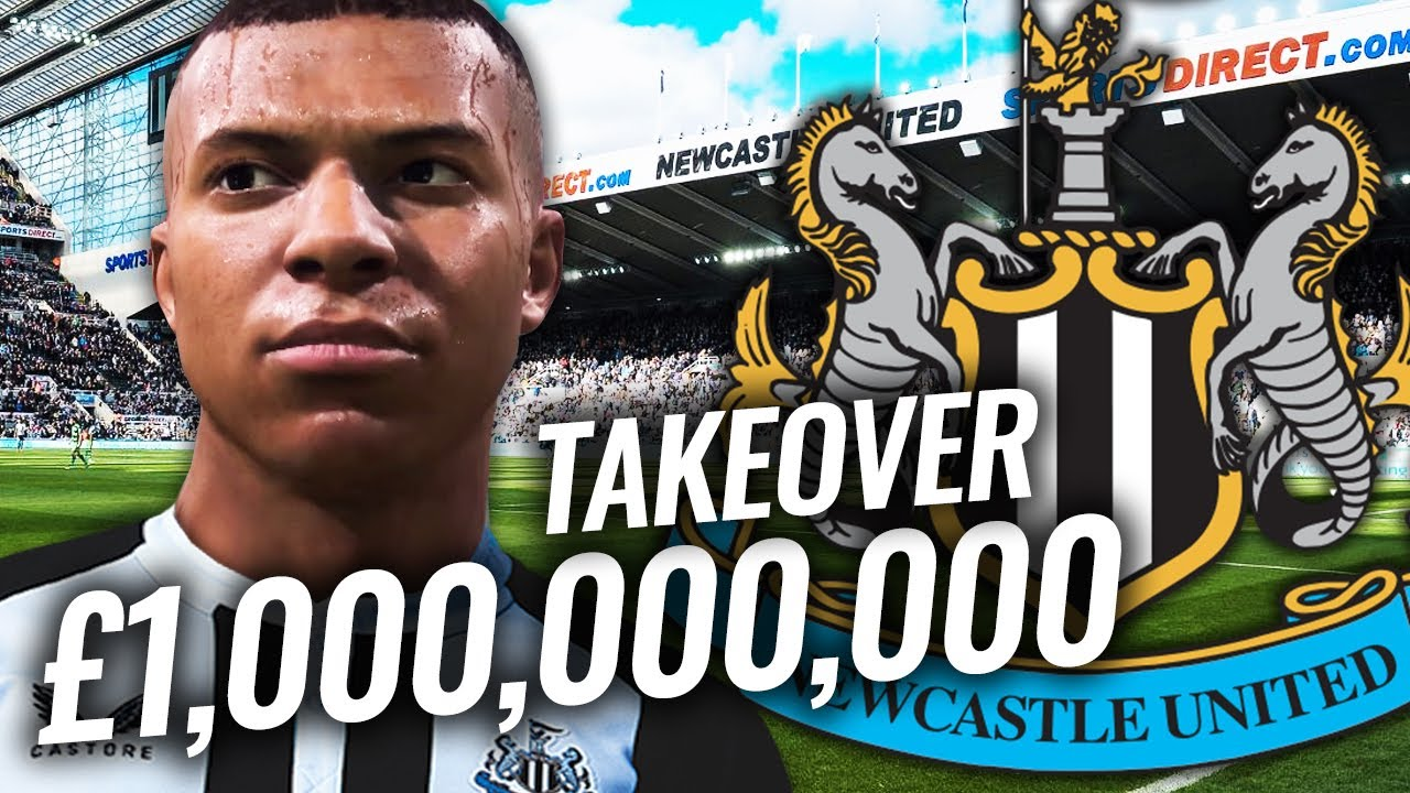 Download NEWCASTLE TAKEOVER WITH £1BILLION!   FIFA 21 CAREER MODE
